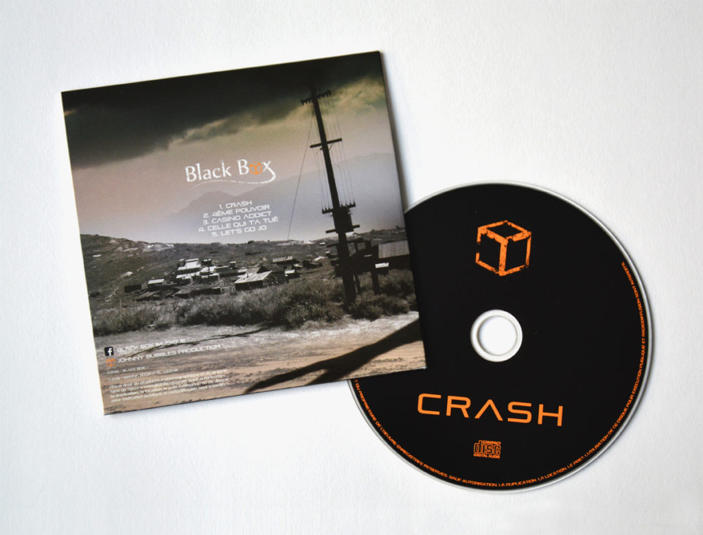 Black Box - Crash EP - Front